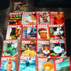 Coleccionismo de Revista Muy Interesante: COLECCION DE 20 REVISTAS -MUY INTERESANTE- DE 1986 Y UNA DE 1985. Lote 46872194