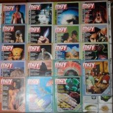 Coleccionismo de Revista Muy Interesante: NÚMEROS DE 1 AL 21 DE LA REVISTA MUY ESPECIAL. Lote 142958102