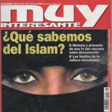 Coleccionismo de Revista Muy Interesante: REVISTA MUY INTERESANTE, Nº 247, AÑO 2001. Lote 47285775