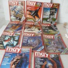 Coleccionismo de Revista Muy Interesante: REVISTAS MUY INTERESANTE AÑO 1987 LOTE DE 11. Lote 47340110