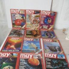 Coleccionismo de Revista Muy Interesante: REVISTAS MUY INTERESANTE AÑO 1988 LOTE DE 12. Lote 47340353