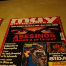 Coleccionismo de Revista Muy Interesante: LOTE 12 REVISTAS MUY INTERESANTE Y 1 MUY ESPECIAL. Lote 47903182