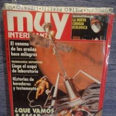 Coleccionismo de Revista Muy Interesante: MUY INTERESANTE Nº 130. MARZO - 1992. ¿ QUE VAMOS A SACAR DE MARTE ? REVISTA PRECINTADA.. Lote 48688525