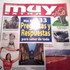 Coleccionismo de Revista Muy Interesante: REVISTA MUY EXTRA. MÁS DE 333 PREGUNTAS Y RESPUESTAS PARA SABER DE TODO. B6R. Lote 48852429