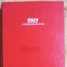 Coleccionismo de Revista Muy Interesante: MUY INTERESANTE. ARCHIVADOR CON 12 REVISTAS. NUMEROS 25 A 36. AÑO1 1983/84. 2600 GRAMOS.. Lote 48878473