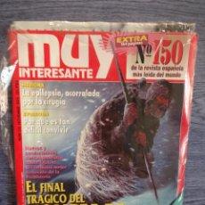Coleccionismo de Revista Muy Interesante: MUY INTERESANTE Nº 150. NOV-1993. EJEMPLAR PRECINTADO. NÚMERO EXTRA 164 PÁGINAS.. Lote 48935071