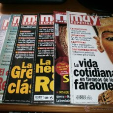 Coleccionismo de Revista Muy Interesante: LOTE 7 REVISTAS ESPECIAL MUY INTERESANTE .- Nº 13,19,33,39,44,56 + MUY HISTORIA Nº 18. Lote 49877264