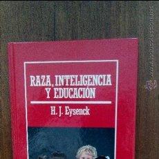 Colecionismo da Revista Muy Interesante: RAZA,INTELIGENCIA Y EDUCACION,H-H.J.EYSENCK. Lote 50106155