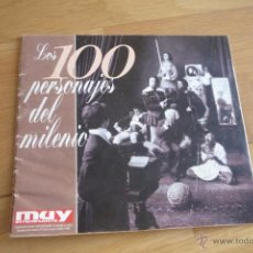 Coleccionismo de Revista Muy Interesante: REVISTA MUY INTERESANTE. LOS 100 PERSONAJES DEL MILENIO.1999.. Lote 50944740