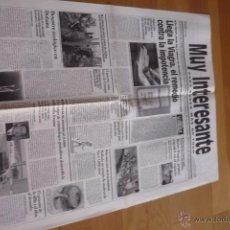 Coleccionismo de Revista Muy Interesante: REVISTA MUY INTERESANTE. PERIODICO PARA SABER MÁS DE TODO 1998.NUEVO.. Lote 50944906