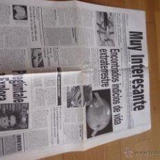 Coleccionismo de Revista Muy Interesante: REVISTA MUY INTERESANTE. PERIODICO PARA SABER MÁS DE TODO 1996.NUEVO.. Lote 50944958