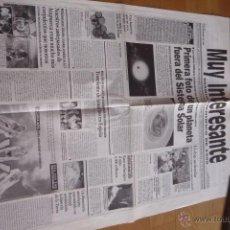Coleccionismo de Revista Muy Interesante: REVISTA MUY INTERESANTE. PERIODICO DIARIO CIENTIFICO DE 1999. NUEVO.. Lote 50944983