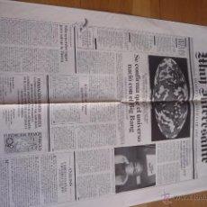 Coleccionismo de Revista Muy Interesante: REVISTA MUY INTERESANTE. PERIODICO DIARIO CIENTIFICO DE 1992. NUEVO.. Lote 50945011