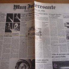 Coleccionismo de Revista Muy Interesante: REVISTA MUY INTERESANTE. PERIODICO DIARIO CIENTIFICO DE 1986. NUEVO.. Lote 50945217