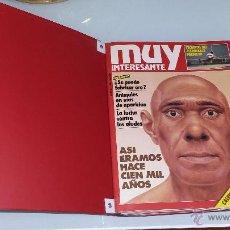 Coleccionismo de Revista Muy Interesante: MUY INTERESANTE.ARCHIVADOR DEL AÑO 1983 COMPLETO.CON TAPAS ORIGINALES.. Lote 52415560