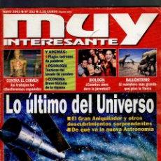 Coleccionismo de Revista Muy Interesante: REVISTA MUY INTERESANTE Nº 252 · MAYO 2002 · EN PORTADA: LO ÚLTIMO DEL UNIVERSO (228 PÁGINAS). Lote 52568962