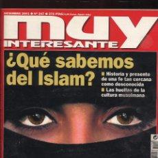 Coleccionismo de Revista Muy Interesante: REVISTA MUY INTERESANTE - DICIEMBRE 2001 - N 247. Lote 53202607