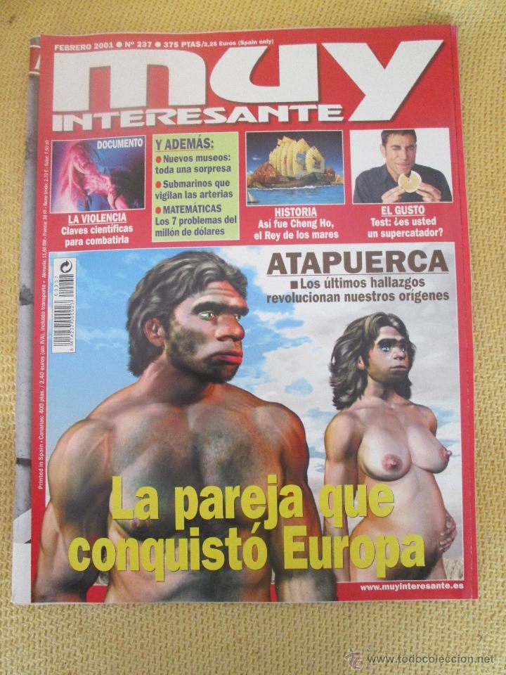 MUY INTERESANTE 237 FEBRERO 2001 (Coleccionismo - Revistas y Periódicos Modernos (a partir de 1.940) - Revista Muy Interesante)