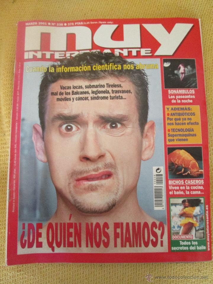 MUY INTERESANTE 238 MARZO 2001 (Coleccionismo - Revistas y Periódicos Modernos (a partir de 1.940) - Revista Muy Interesante)