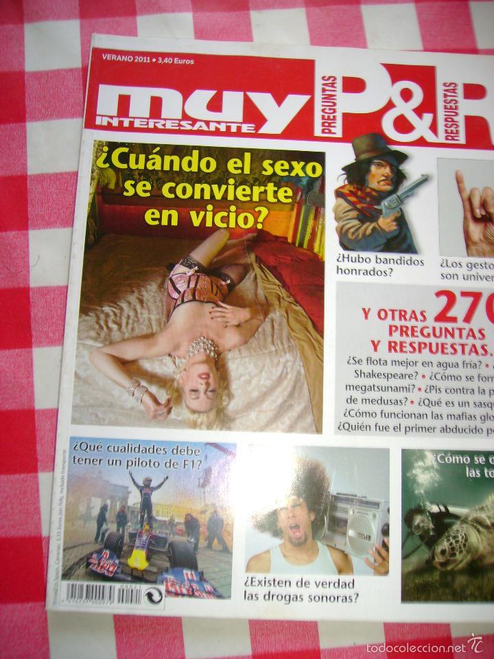 MUY INTERESANTE EXTRA PREGUNTAS Y RESPUESTAS VERANO 2011 (Coleccionismo - Revistas y Periódicos Modernos (a partir de 1.940) - Revista Muy Interesante)