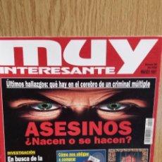 Coleccionismo de Revista Muy Interesante: MUY INTERESANTE N1 190. MARZO-1997. ASESINOS ¿ NACEN O SE HACEN ? INTERESANTES ARTÍCULOS. Lote 56652201