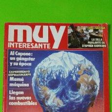 Coleccionismo de Revista Muy Interesante: MUY INTERESANTE Nº 94 ORIGINAL DEL AÑO 1989 CON PÓSTER INCLUÍDO GRAN OPORTUNIDAD. Lote 57165750