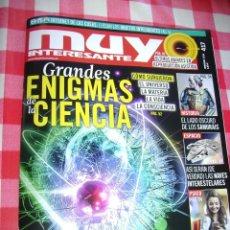 Coleccionismo de Revista Muy Interesante: MUY INTERESANTE 417 FEBRERO 2016 . Lote 58390306