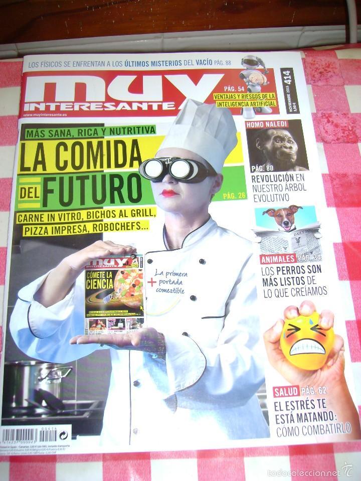 MUY INTERESANTE 414 NOVIEMBRE 2015 (Coleccionismo - Revistas y Periódicos Modernos (a partir de 1.940) - Revista Muy Interesante)