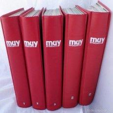 Coleccionismo de Revista Muy Interesante: LOTE 60 REVISTAS ENCUADERNADAS MUY INTERESANTE DE 1983 A 1988 ( DEL 27 AL 85 ). Lote 60907615