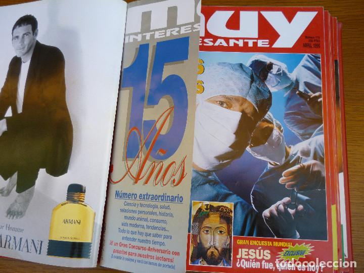 Coleccionismo de Revista Muy Interesante: MUY INTERESANTE AÑO 1996 COMPLETO DEL Nº 176 AL Nº 187 12 REVISTAS ENCUADERNADAS EN CARPETA ORIGINAL - Foto 9 - 61690060