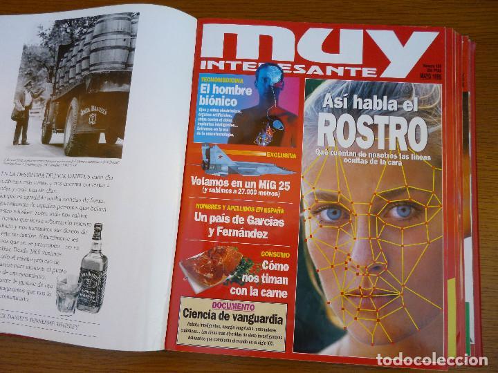 Coleccionismo de Revista Muy Interesante: MUY INTERESANTE AÑO 1996 COMPLETO DEL Nº 176 AL Nº 187 12 REVISTAS ENCUADERNADAS EN CARPETA ORIGINAL - Foto 10 - 61690060