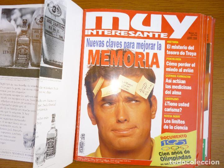 Coleccionismo de Revista Muy Interesante: MUY INTERESANTE AÑO 1996 COMPLETO DEL Nº 176 AL Nº 187 12 REVISTAS ENCUADERNADAS EN CARPETA ORIGINAL - Foto 11 - 61690060