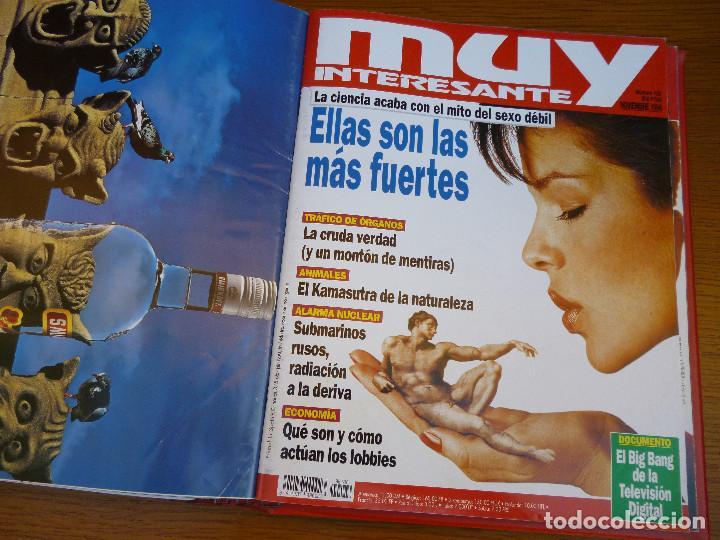 Coleccionismo de Revista Muy Interesante: MUY INTERESANTE AÑO 1996 COMPLETO DEL Nº 176 AL Nº 187 12 REVISTAS ENCUADERNADAS EN CARPETA ORIGINAL - Foto 16 - 61690060