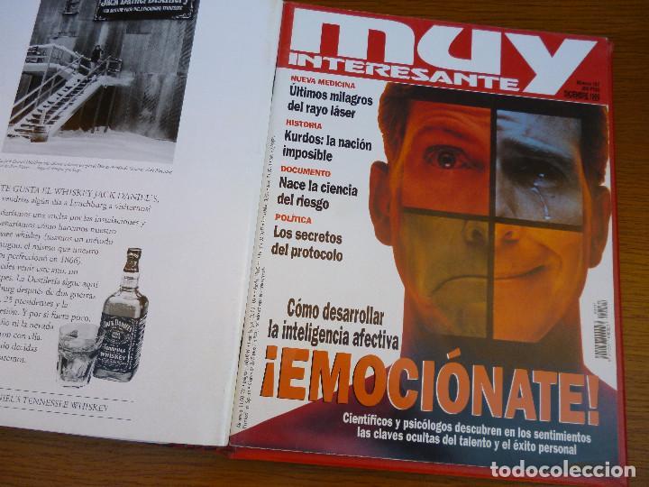 Coleccionismo de Revista Muy Interesante: MUY INTERESANTE AÑO 1996 COMPLETO DEL Nº 176 AL Nº 187 12 REVISTAS ENCUADERNADAS EN CARPETA ORIGINAL - Foto 17 - 61690060