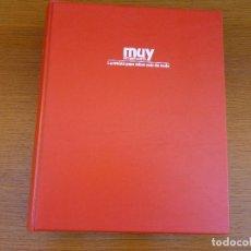 Coleccionismo de Revista Muy Interesante: MUY INTERESANTE AÑO 1995 COMPLETO DEL Nº 164 AL Nº 175 REVISTAS ENCUADERNADAS EN CARPETA ORIGINAL. Lote 61696400