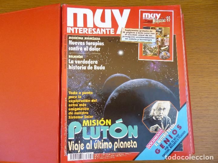 Coleccionismo de Revista Muy Interesante: MUY INTERESANTE AÑO 1994 COMPLETO DEL Nº 152 AL Nº 163 REVISTAS ENCUADERNADAS EN CARPETA ORIGINAL - Foto 6 - 61700428