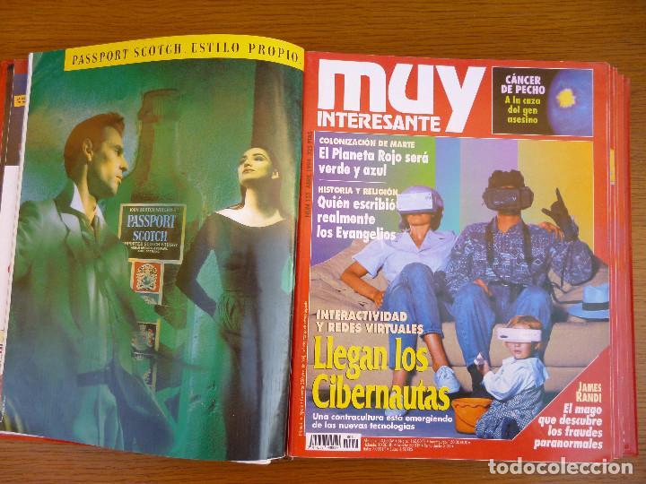 Coleccionismo de Revista Muy Interesante: MUY INTERESANTE AÑO 1994 COMPLETO DEL Nº 152 AL Nº 163 REVISTAS ENCUADERNADAS EN CARPETA ORIGINAL - Foto 9 - 61700428
