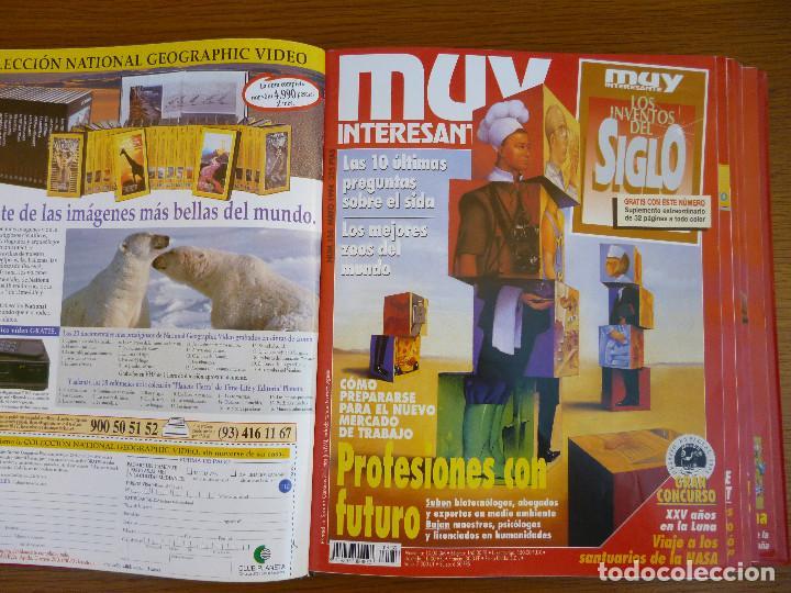 Coleccionismo de Revista Muy Interesante: MUY INTERESANTE AÑO 1994 COMPLETO DEL Nº 152 AL Nº 163 REVISTAS ENCUADERNADAS EN CARPETA ORIGINAL - Foto 10 - 61700428