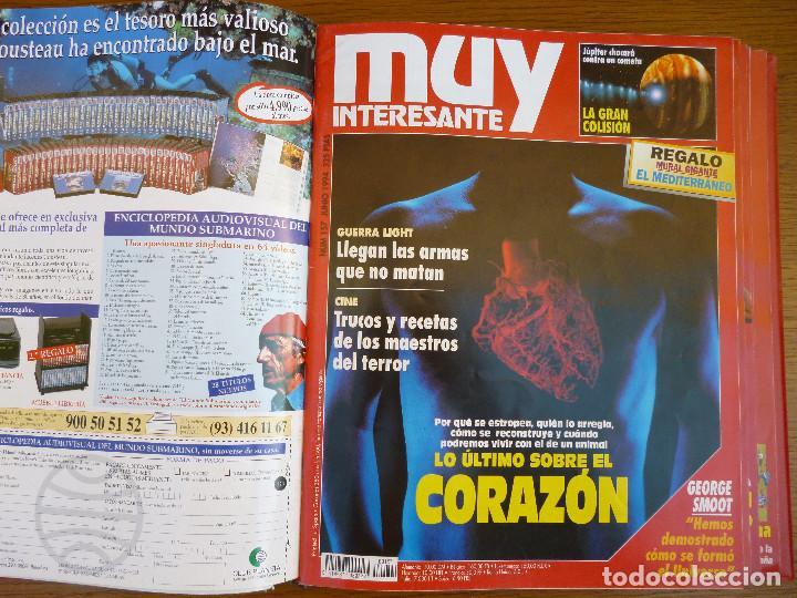 Coleccionismo de Revista Muy Interesante: MUY INTERESANTE AÑO 1994 COMPLETO DEL Nº 152 AL Nº 163 REVISTAS ENCUADERNADAS EN CARPETA ORIGINAL - Foto 11 - 61700428