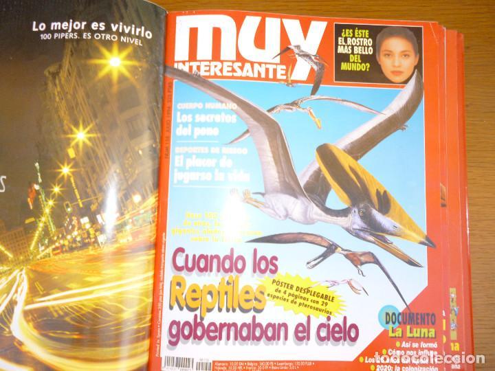Coleccionismo de Revista Muy Interesante: MUY INTERESANTE AÑO 1994 COMPLETO DEL Nº 152 AL Nº 163 REVISTAS ENCUADERNADAS EN CARPETA ORIGINAL - Foto 12 - 61700428