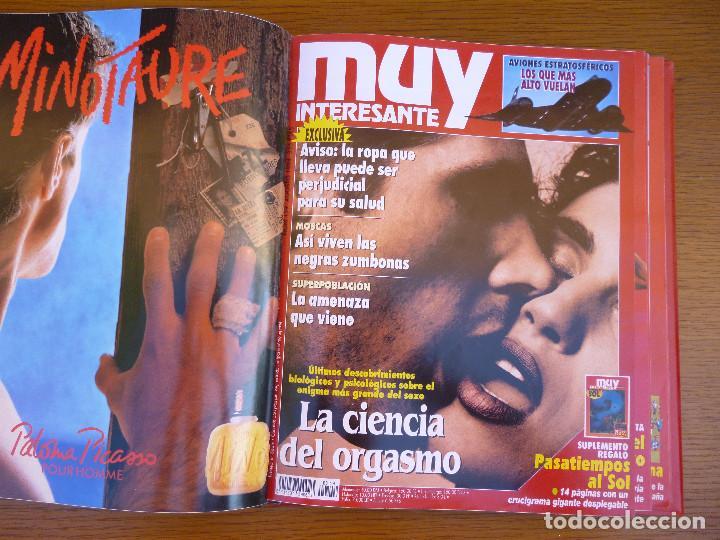 Coleccionismo de Revista Muy Interesante: MUY INTERESANTE AÑO 1994 COMPLETO DEL Nº 152 AL Nº 163 REVISTAS ENCUADERNADAS EN CARPETA ORIGINAL - Foto 13 - 61700428