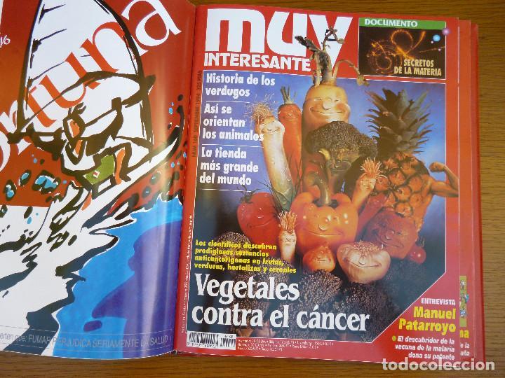 Coleccionismo de Revista Muy Interesante: MUY INTERESANTE AÑO 1994 COMPLETO DEL Nº 152 AL Nº 163 REVISTAS ENCUADERNADAS EN CARPETA ORIGINAL - Foto 14 - 61700428