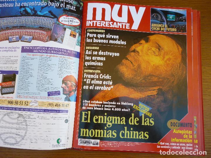 Coleccionismo de Revista Muy Interesante: MUY INTERESANTE AÑO 1994 COMPLETO DEL Nº 152 AL Nº 163 REVISTAS ENCUADERNADAS EN CARPETA ORIGINAL - Foto 15 - 61700428