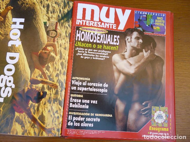 Coleccionismo de Revista Muy Interesante: MUY INTERESANTE AÑO 1994 COMPLETO DEL Nº 152 AL Nº 163 REVISTAS ENCUADERNADAS EN CARPETA ORIGINAL - Foto 16 - 61700428