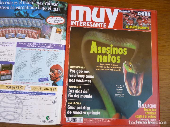 Coleccionismo de Revista Muy Interesante: MUY INTERESANTE AÑO 1994 COMPLETO DEL Nº 152 AL Nº 163 REVISTAS ENCUADERNADAS EN CARPETA ORIGINAL - Foto 17 - 61700428