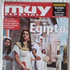 Coleccionismo de Revista Muy Interesante: MUY ESPECIAL Nº 67 OTOÑO 2004 EL VERDADERO EGIPTO FARAÓNICO. Lote 63989639
