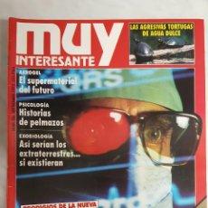 Coleccionismo de Revista Muy Interesante: 12 REVISTAS MUY INTERESANTE, NUM. 124, 126 A 136. Lote 64679771