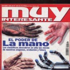 Coleccionismo de Revista Muy Interesante: REVISTA MUY INTERESANTE - OCTUBRE 2001 - N 245. Lote 67641273