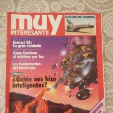 Coleccionismo de Revista Muy Interesante: REVISTA MUY INTERESANTE Nº 8. Lote 68774593