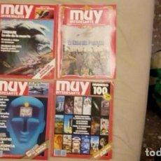 Coleccionismo de Revista Muy Interesante: LOTE REVISTA MUY INTERESANTE. Lote 72100783